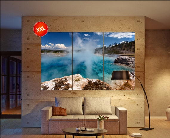 Yellowstone wall art Yellowstone canvas Yellowstone canvas wall art Yellowstone decor Yellowstone wall decor Yellowstone art