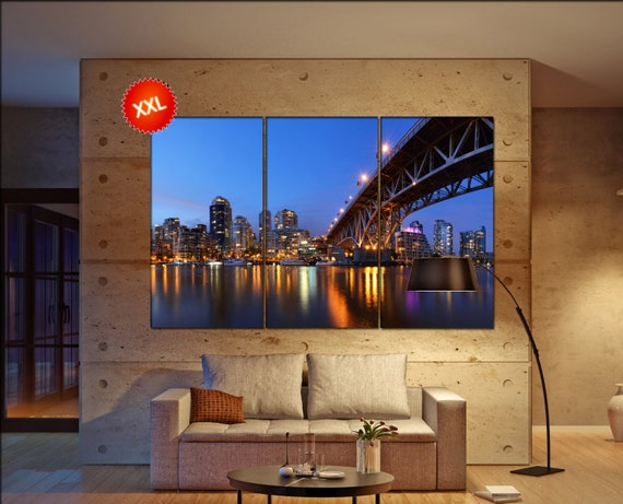 Granville Vancouver  canvas Granville Vancouver wall decoration XGranville Vancouver canvas art large canvas  wall decor