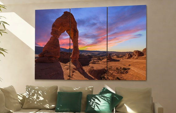 Arches National Park canvas Arches National Park wall art Arches National Park canvas wall art Arches National Park decor