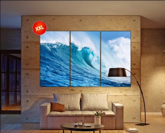 Ocean Wave  canvas wall art Ocean Wave wall decoration Ocean Wave canvas wall art art Ocean Wave large canvas wall art  wall decor