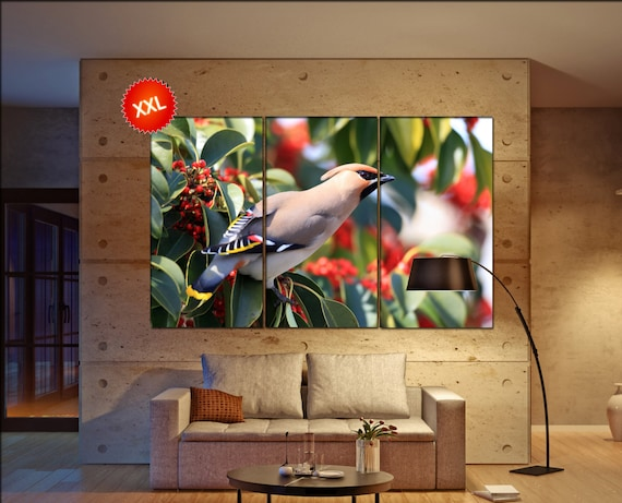 waxwing   wall art waxwing   canvas waxwing   canvas wall art waxwing   decor waxwing   wall decor waxwing   art waxwing   large wall art