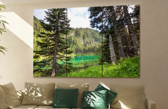 Olympic National Park canvas Olympic National Park wall art Olympic National Park canvas wall art