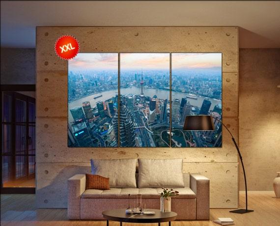 shanghai  canvas wall art shanghai wall decoration shanghai canvas wall art art shanghai large canvas wall art  wall decor