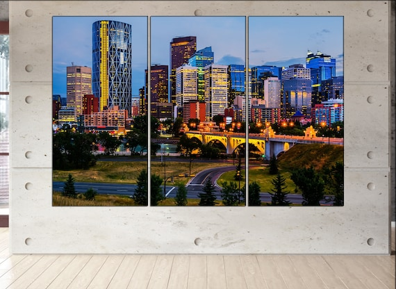 Calgary  canvas wall art Calgary wall decoration Calgary canvas wall art art Calgary large canvas wall art  wall decor