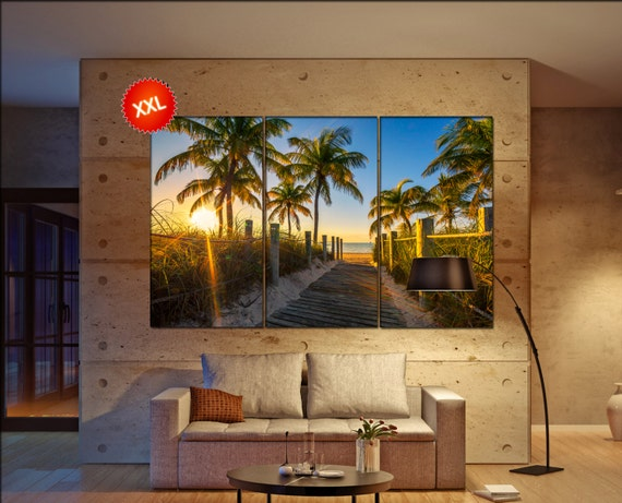 Key west wall art Key west canvas Key west canvas wall art Key west decor Key west wall decor Key west art