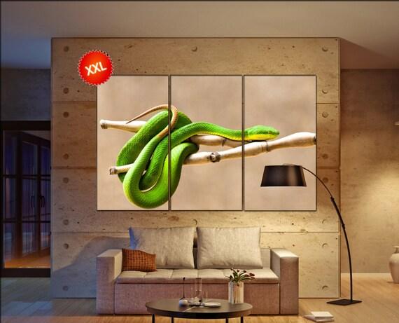 viper snake  canvas wall art viper snake wall decoration viper snake canvas wall art art viper snake large canvas wall art  wall