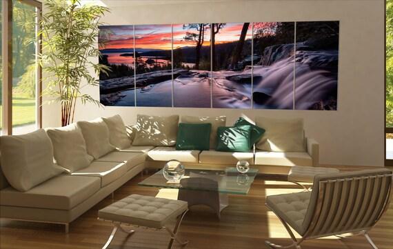 Large Lake Tahoe  canvas Large Lake Tahoe wall decoration Large Lake Tahoe canvas art Large Lake Tahoe large canvas