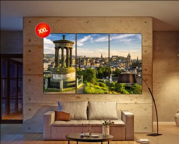 Edinburgh  canvas wall art Edinburgh wall decoration Edinburgh canvas wall art art Edinburgh large canvas wall art  wall decor