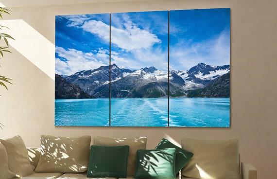Glacier Bay wall art Glacier Bay canvas Glacier Bay canvas wall art Glacier Bay decor Glacier Bay wall decor Glacier Bay art