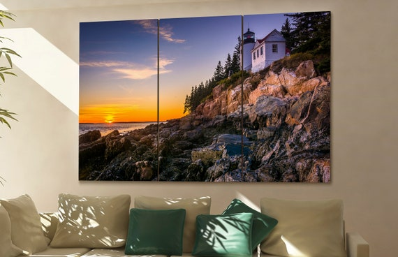 Acadia National Park  canvas wall art Acadia wall decoration Acadia canvas wall art art Acadia large canvas wall art  wall decor