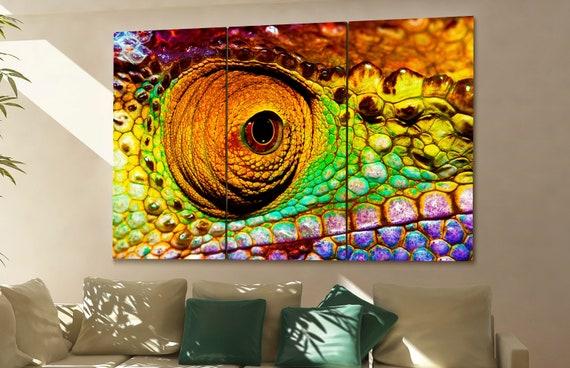 chameleon wall art chameleon canvas chameleon canvas wall art chameleon decor chameleon wall decor chameleon art chameleon large wall art