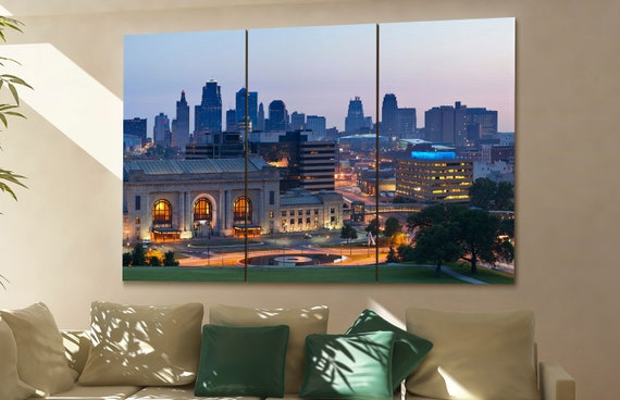 Kansas City skyline Kansas skyline Kansas city mo Kansas wall art Kansas print kansas city missouri Kansas city art