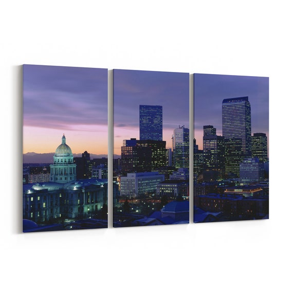 St. Louis Canvas Art St. Louis Wall Art Canvas Multiple Sizes Wrapped Canvas on Wooden Frame