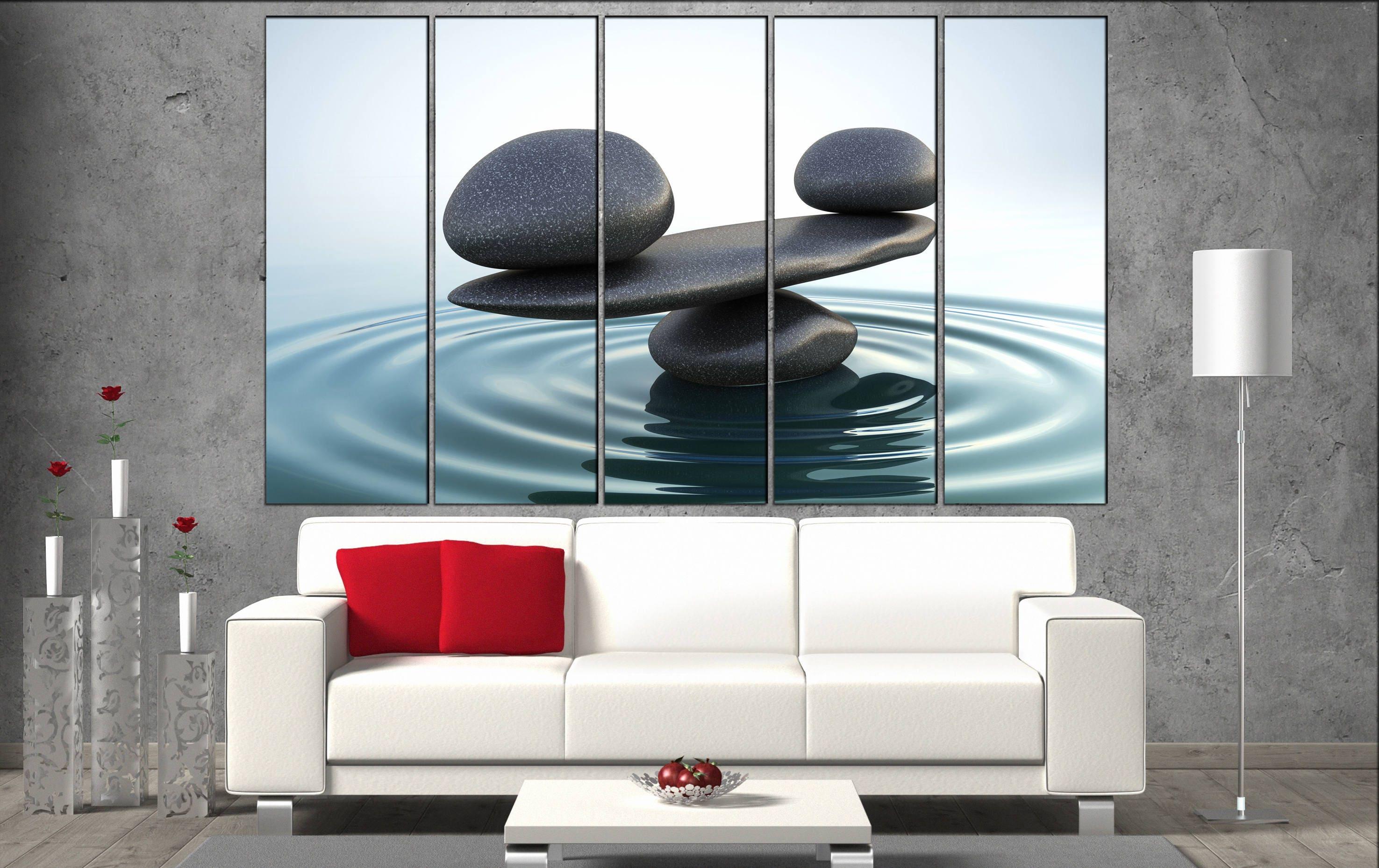 Tremendous Zen Stones Canvas Wall Art Zen Stones Canvas Wall Art Art Zen Home Interior And Landscaping Palasignezvosmurscom