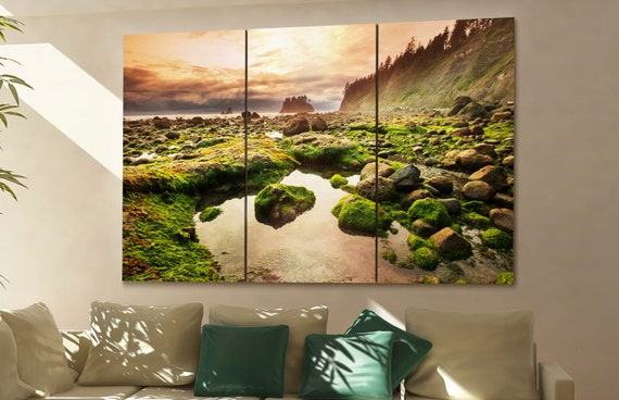 Olympic National Park wall art Olympic National Park canvas Olympic National Park canvas wall art