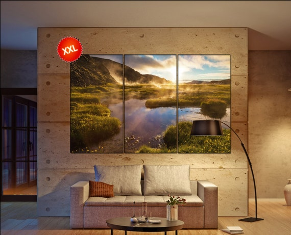 lake in nature  canvas lake in nature wall decoration lake in nature canvas art lake in nature large canvas  wall decor