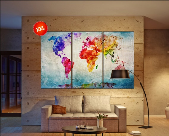 World state maps canvasconquest canvas world map print on canvas large canvas world map art artwork canvas world map world gumiabroncs Choice Image