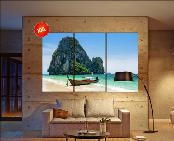 beach  canvas wall art beach wall decoration beach canvas wall art art beach large canvas wall art  wall decor