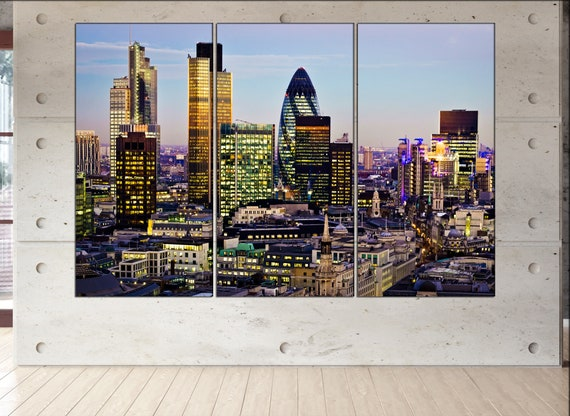 London  canvas wall art London wall decoration London canvas wall art art London large canvas wall art  wall decor
