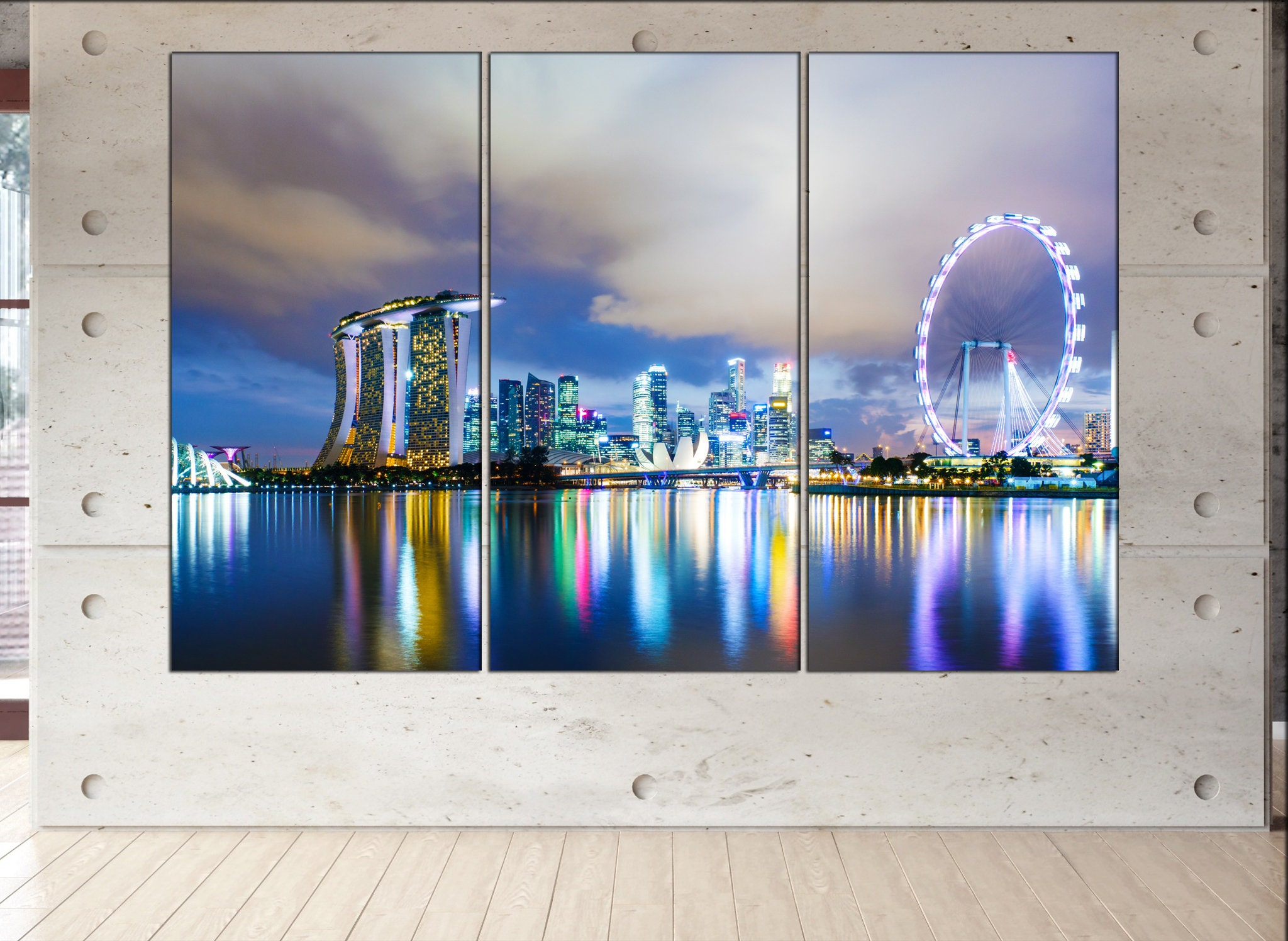 Singapore Canvas Wall Art Singapore Wall Decoration Singapore Canvas