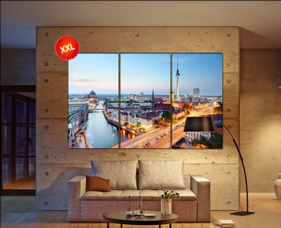 Berlin  canvas wall art Berlin wall decoration Berlin canvas wall art art Berlin large canvas wall art  wall decor