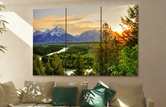 Grand Teton  wall art Grand Teton  canvas Grand Teton  canvas wall art Grand Teton  decor Grand Teton  wall decor Grand Teton  art