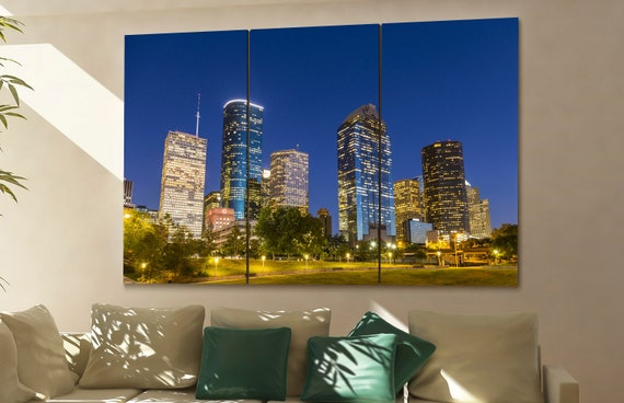 Houston  wall art Houston  skyline Houston  cityscape Houston  art Houston  Houston  downtown Houston  canvas Houston  city