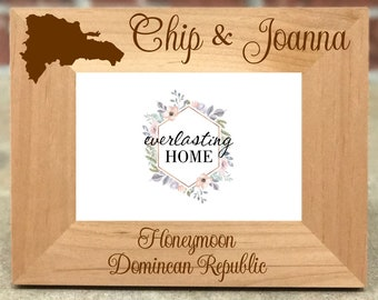 Lucia Honeymoon Picture Frame St Personalized St Lucia Honeymoon Custom Wedding Gift Honeymoon Gift Best Selling Item Wedding Frame