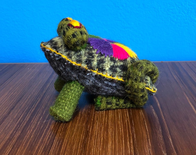 Hand Sewn Stuffed Animal Frog Plush Toy