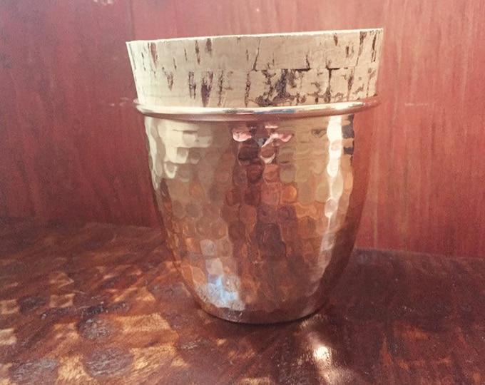 Hammered Copper Stash Jar