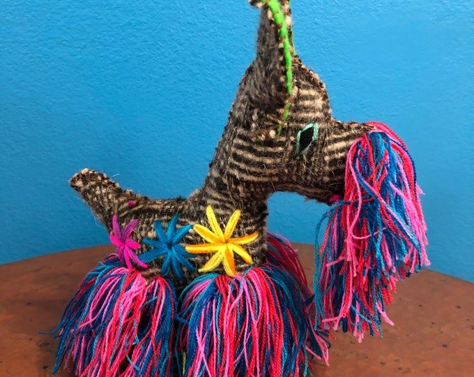 Hand Sewn Stuffed Animal Scottie Dog Plush Toy