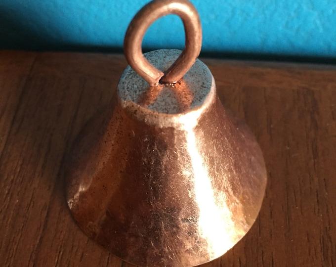 """Hammered Copper Handbell (1 3/4"""")"""