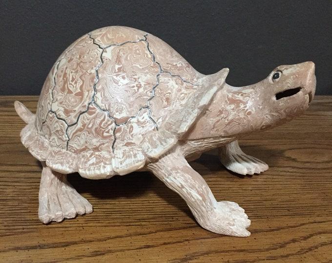 Mata Ortiz Turtle by Nicolas Ortiz
