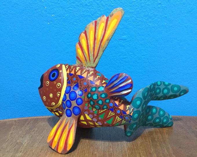 Alebrije Fish by Zeny Fuentes