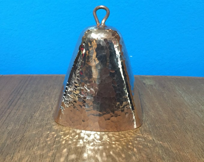 """Pure Hammered Copper Cowbell (4"""")"""