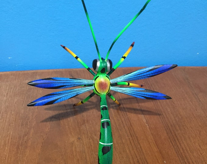Alebrije Dragonfly by Zeny and Reyna Fuentes