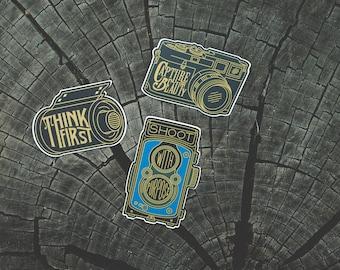 Film Camera Sticker Set #2