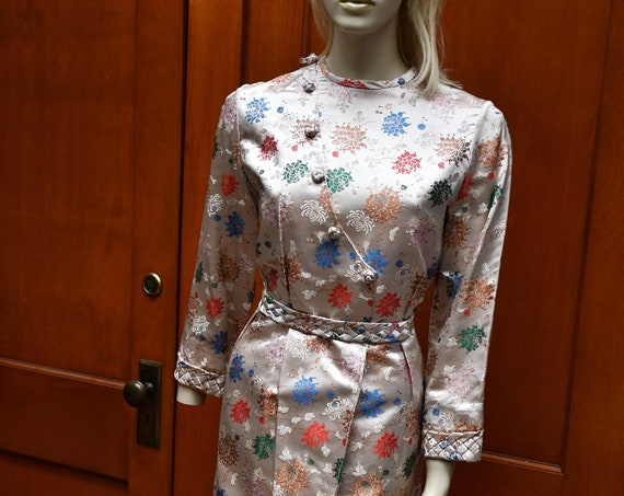 Asian Floral Dress