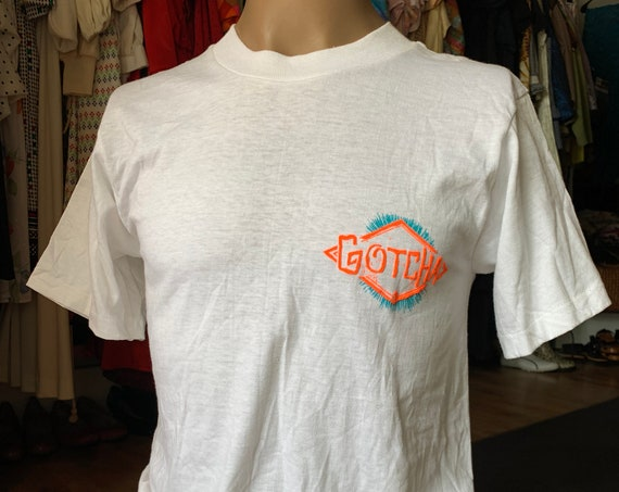 Dead-stock 90's Gotcha graphic T-shirt