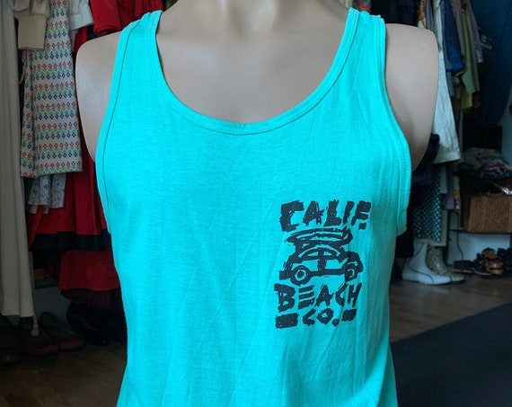 "Deadstock ""Calif Beach co."" Muscle tee"