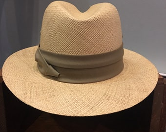 8e25d9f2a Vintage panama hat | Etsy