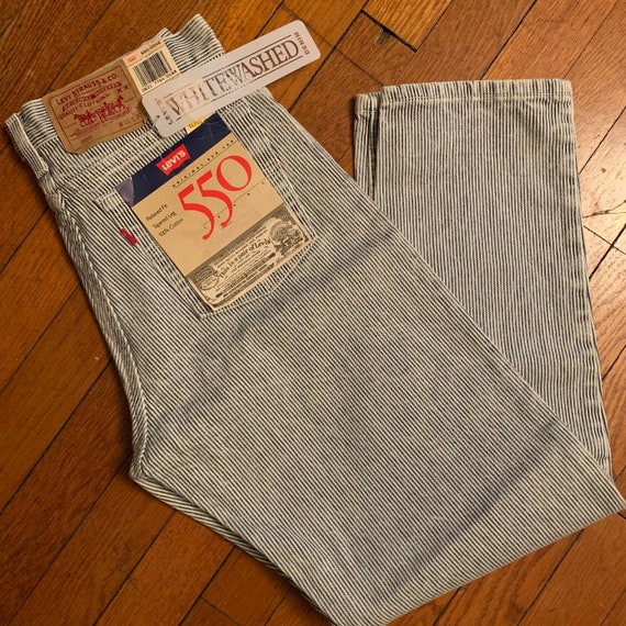Striped levis 90s deadstock