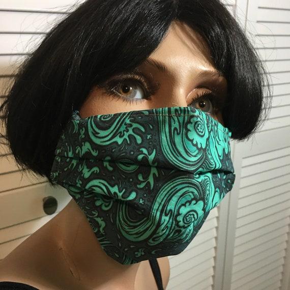 Washable handmade masks by Amy Kollar Anderson