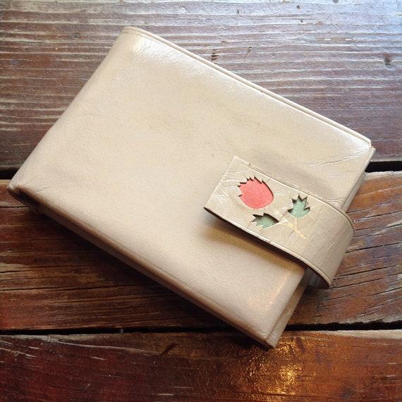 Vintage Enger Kress Tan Wallet