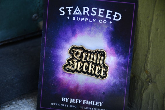 Starseed Truth Seeker Enamel Pin