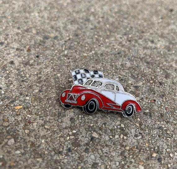 Vintage Willy Gasser Drag Car pin