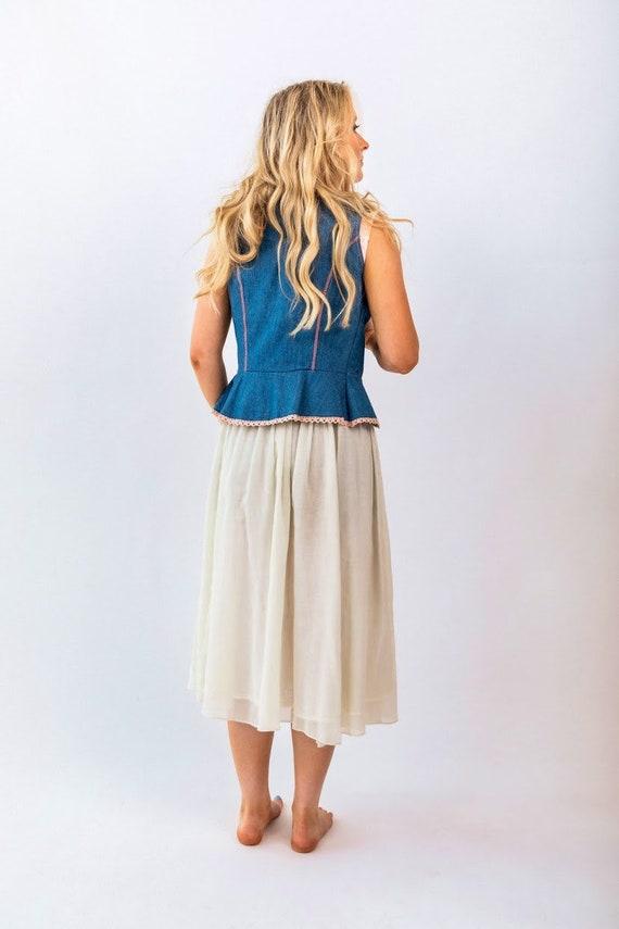 1970s Gunne Sax skirt - image 4