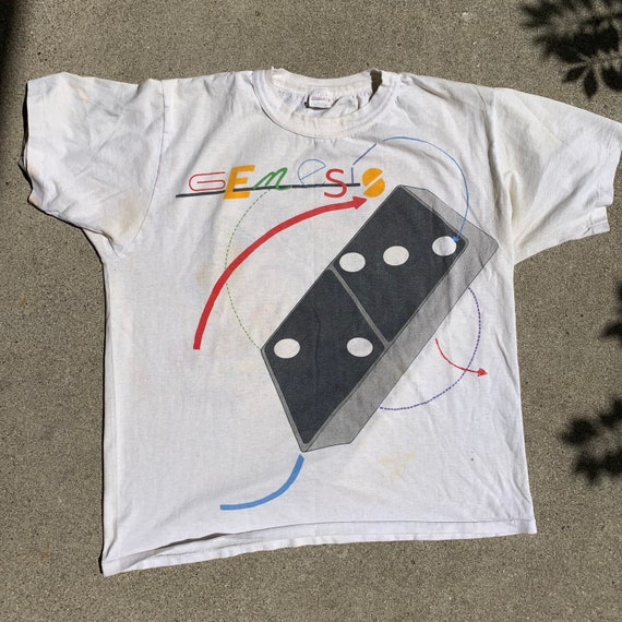 1986 Genesis tour shirt