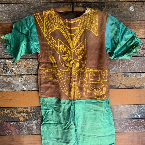 1950s Ben Cooper spotlite Robinhood costume