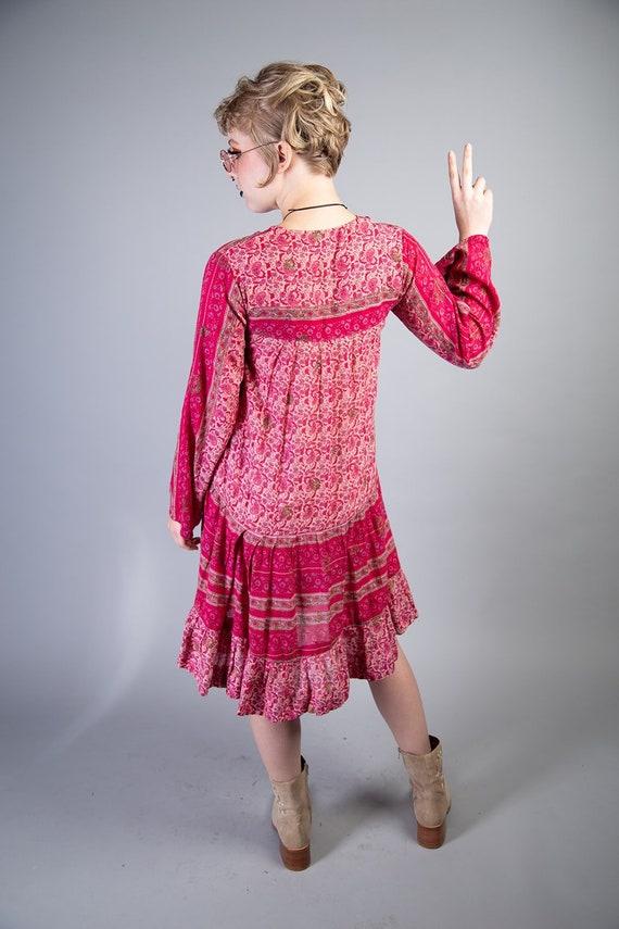 Kaiser 70s Boho Cotton dress - image 3